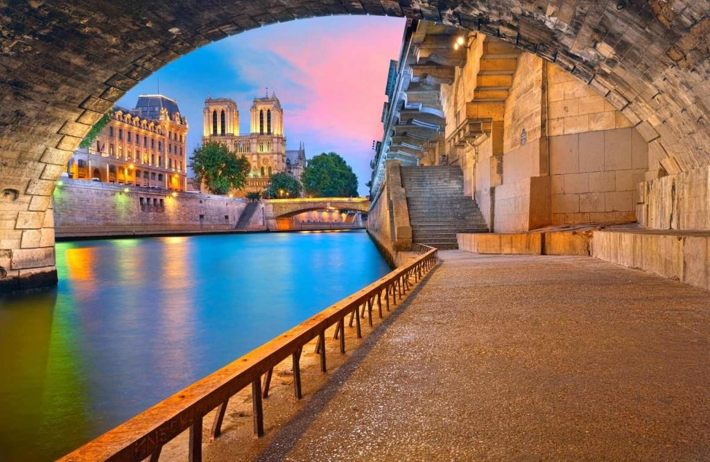 Stroll along the scenic Seine River during a 3 days in Paris itinerary.