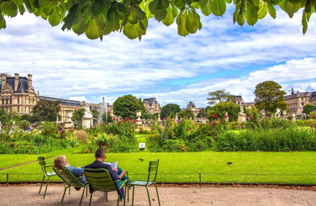 Explore Tuileries Garden during your 3 days in Paris itinerary.