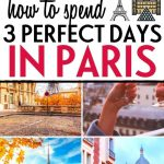 3 days in Paris itinerary — Pin 2