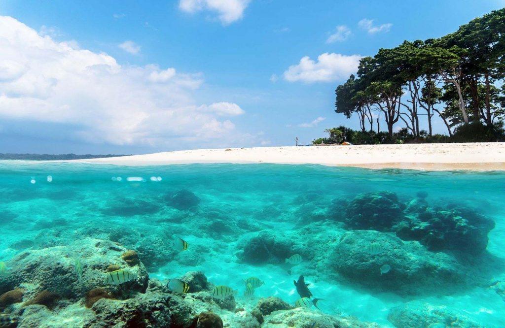 Andaman Islands in Asia are beautiful.