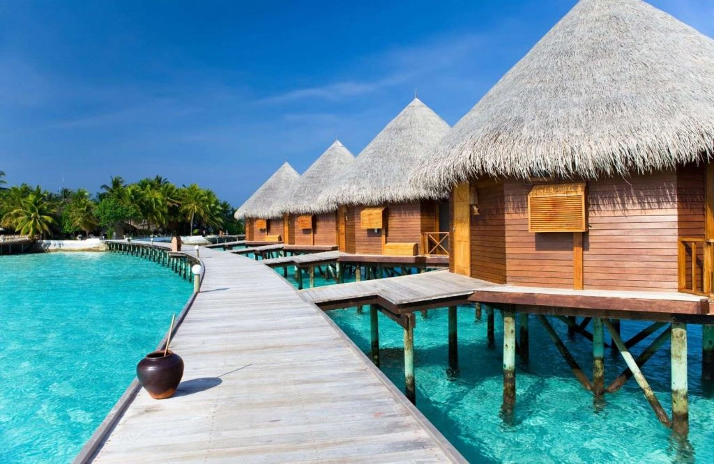 The Maldives are the most picturesque islands in Asia.