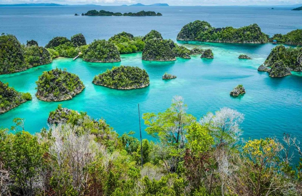 Raja Ampat - gorgeous chain of islands in Asia